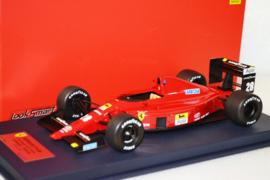 Gerhard Berger Ferrari F1-89 race car Portugese Grand Prix 1989 season