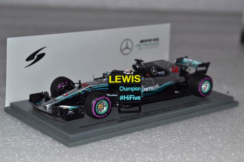Lewis Hamilton Mercedes AMG Petronas MGP-W09 Race Car Mexican Grand Prix 2018 Season