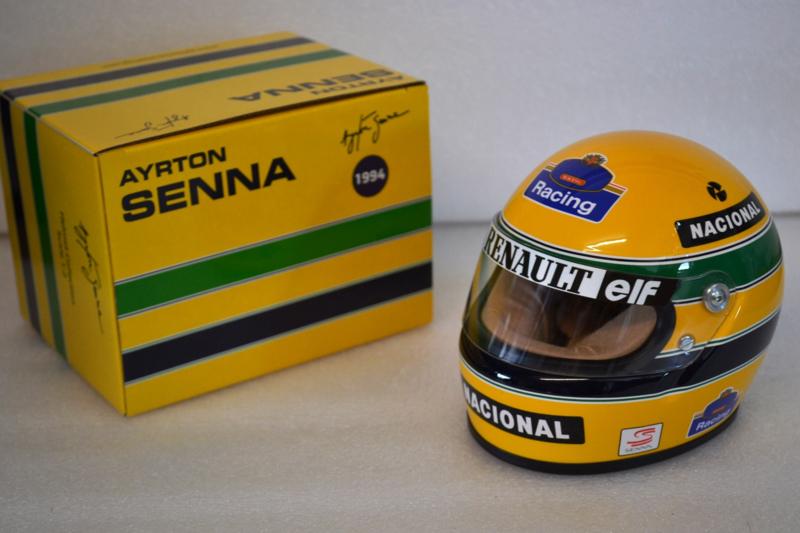 Ayrton Senna Williams Renault Helmet 1994 season