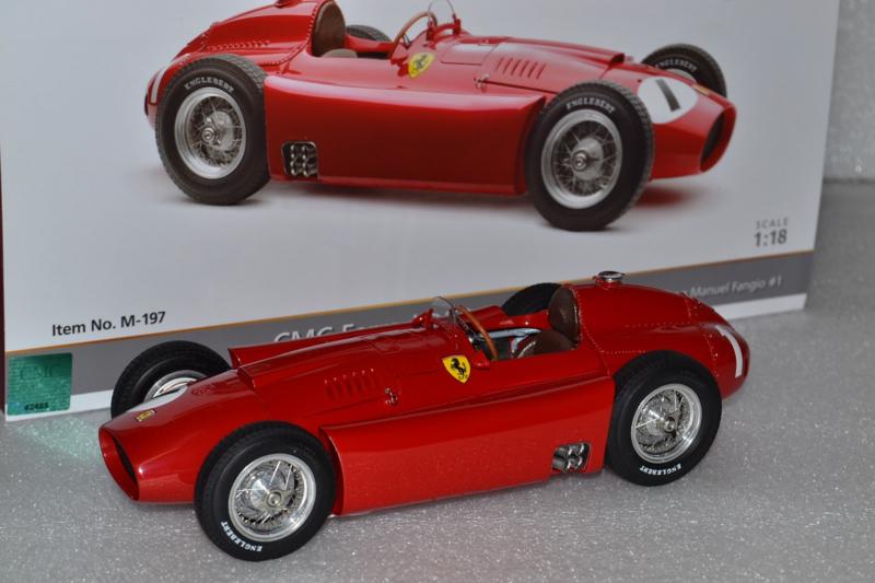 Juan Manual Fangio Scuderia Ferrari D50 race car British Grand Prix 1956 season