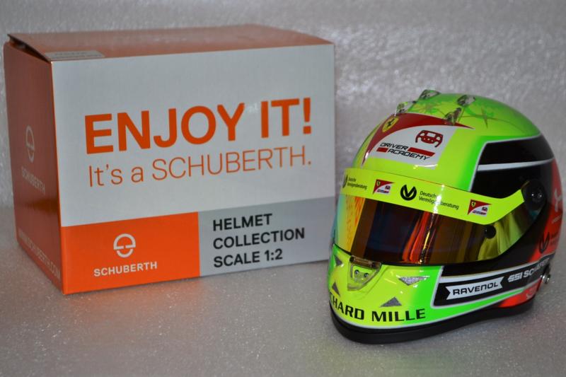 Mick Schumacher Prema Racing helmet 2020 season