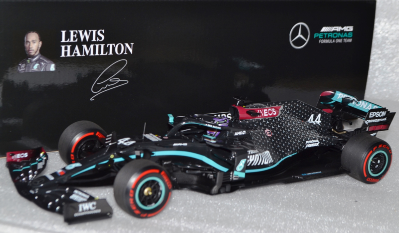 Lewis Hamilton Mercedes AMG petronas MGP-W11 race car Tuscan Grand Prix 2020 season