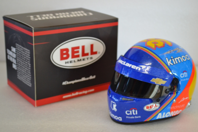 Fernando Alonso Mc Laren Chevrolet helmet Indy 500 2019 season edition