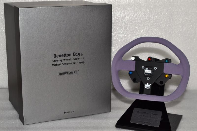 Michael Schumacher Benetton B195 Steering wheel 1995 season