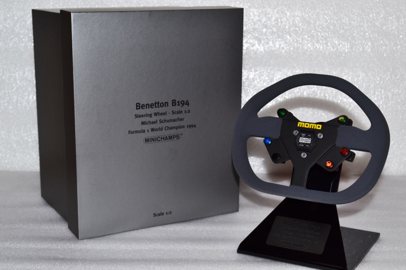 Michael Schumacher Benetton B194 Steering wheel 1994 season