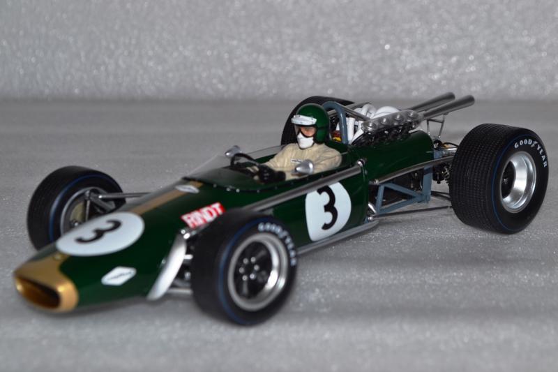 Brabham bt24 repco Jochen Rindt fórmula 1 gp sudáfrica 1968 1:18 Spark 18s504 nuevo