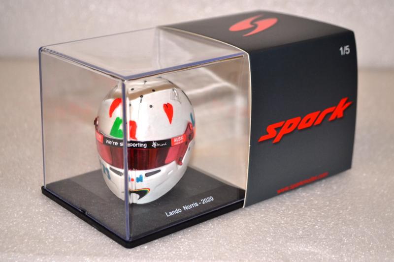 Lando Norris Mc Laren Renault helmet British Grand Prix 2020 season