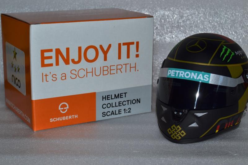 Nico Rosberg Mercedes AMG Petronas helmet German Grand Prix 2014 season