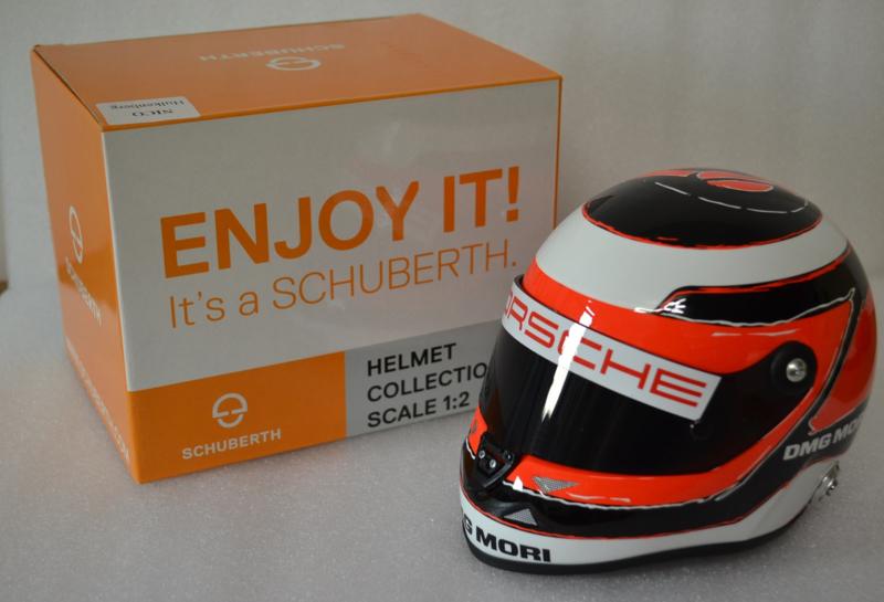 Nico Hulkenberg Porsche LMP1 2015 season helmet