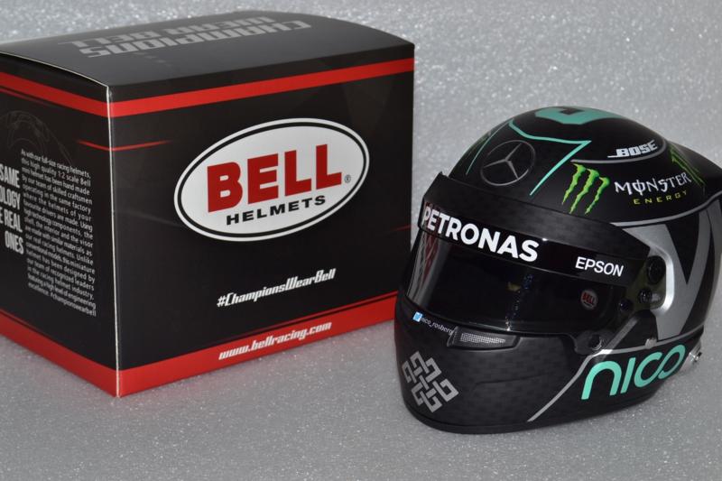 1:12 jf Creations mercedes Helmet World Champion rosberg 2016
