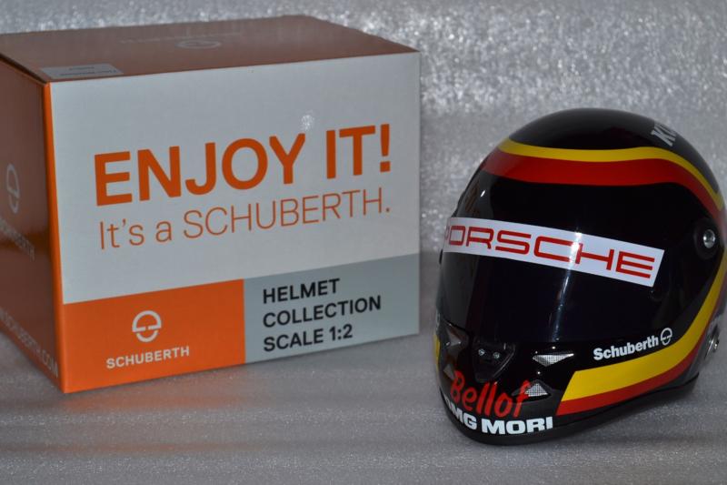 Timo Bernhard Porsche WEC Stefan Bellof Tribute helmet 2015 season