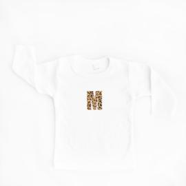Letter shirt