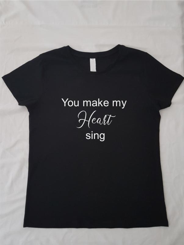 Wild thing, you make my heart sing