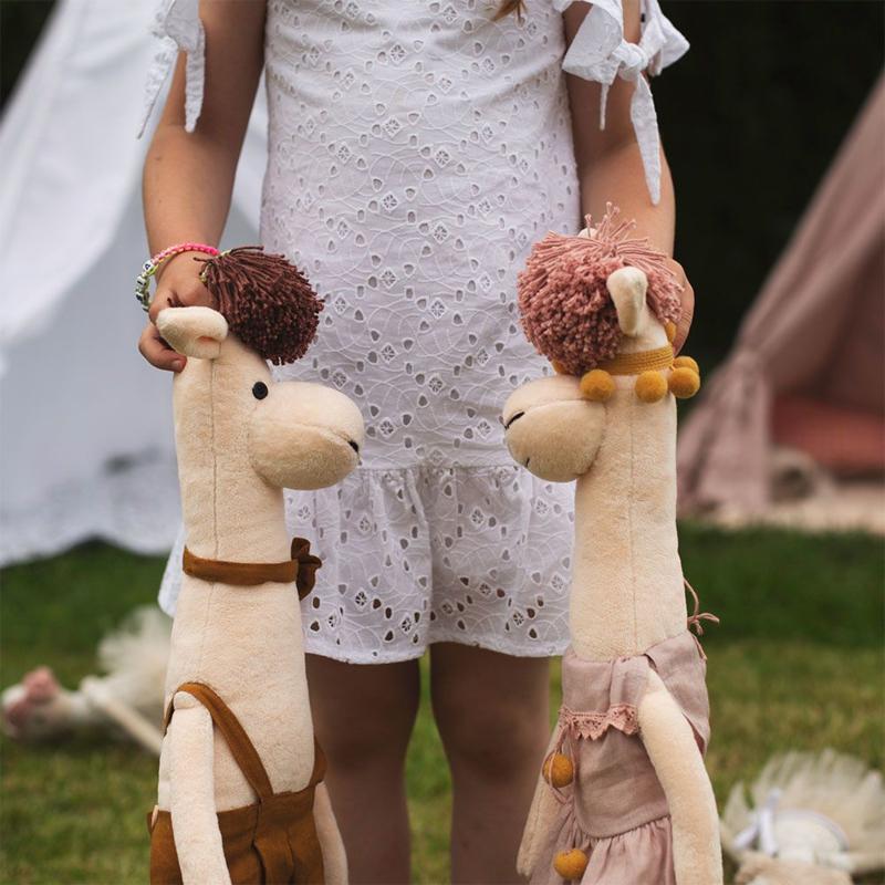 Knuffel Alpaca meisje