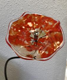 glazen bloem XL