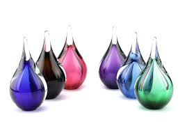 glazen druppels