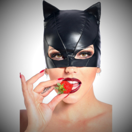 Petit chat vinyl kattenmasker