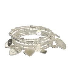Lora di Lora zilver set van 7 armbanden