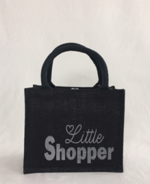 "Kleine jute shopper ""Little shopper"""