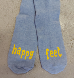 """Sokken voor kids """"happy feet"""""""