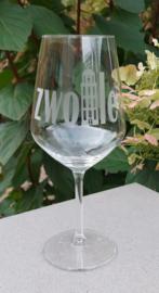 Wijnglas Zwolle (Peperbus)