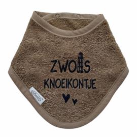 Driehoek slab / bandana  'Zwols knoeikontje'