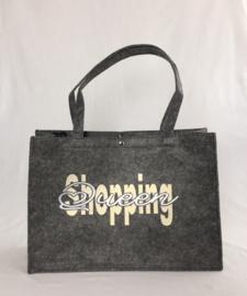 "Vilten tas ""Shopping Queen"""