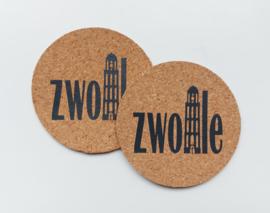 Onderzetters Zwolle (2 stuks)