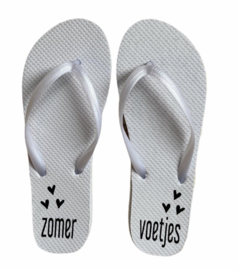 """Slippers """"Zomer voetjes"""""""