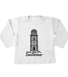 T-shirtje lange mouw met Peperbus