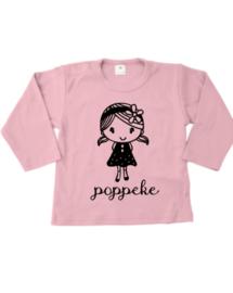 T-shirtje lange mouw Poppeke