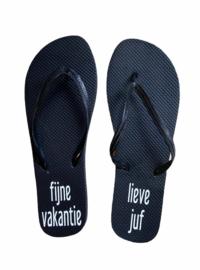 "Slippers ""Lieve juf"""