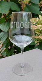Wijnglas Proost