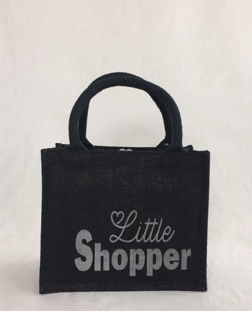 Kleine jute shopper  Little shopper