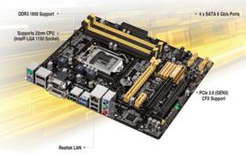 Asus B85M-E - Socket 1150 • Micro-ATX • Intel B85 chipset