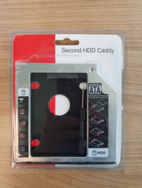 2x Second HDD Caddy (Nieuw)