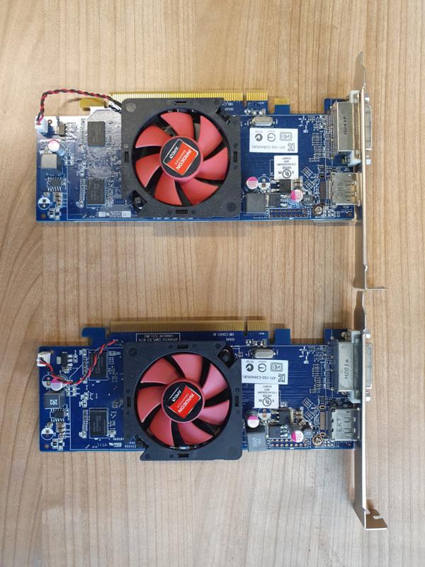 AMD HD6450 1GB • DP, DVI-D  (Refurbished)