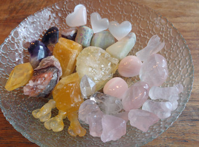 Kristallen voor kommen vol Licht