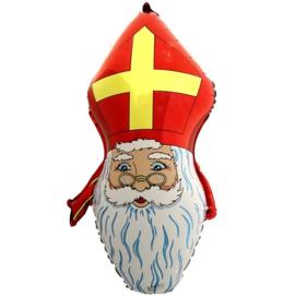 Folie Ballon Sinterklaas Hoofd (leeg)