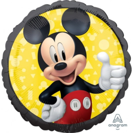 Folie Ballon Mickey Mouse Forever (leeg)