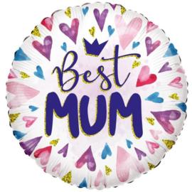 Folie Ballon Best Mum (leeg)