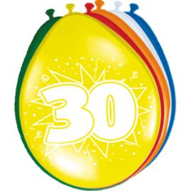 Latex Ballonnen 30 Jaar