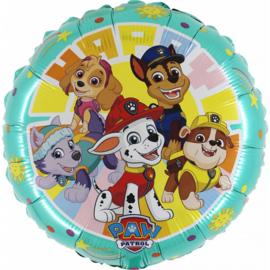 Folie Ballon Paw patrol Gang Happy (leeg)