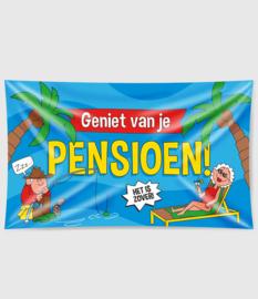 Pensioen banner - 150 x 90 cm