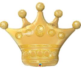 Folie Ballon Kroon (leeg)