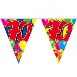 70 jaar ballon Vlaggenlijn