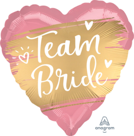 Folie Ballon Team Bride (leeg)