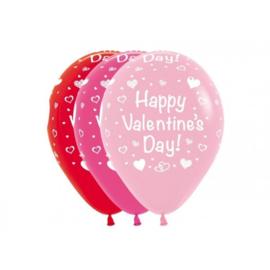 Latex Ballonnen Happy Valentine Day