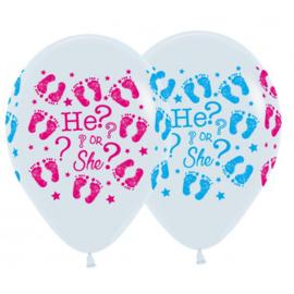 Latex Ballonnen He Of She