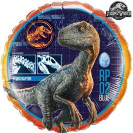 Folie ballon Jurassic World - Dino (leeg)